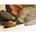 ΧΑΖΑΡΙΔΗΣ 80Χ120 αυθεντικός πίνακας ζωγραφικής ΄΄ΒΡΑΧΟΙ΄΄