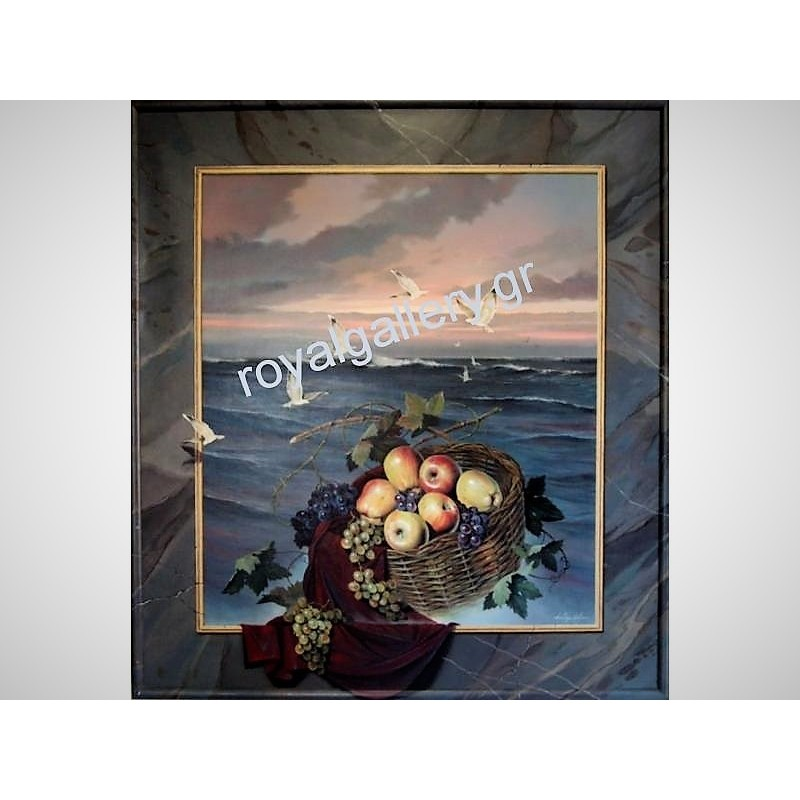 Tibor 90x100  αυθεντικός πίνακας ζωγραφικής